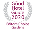 Good Hotel Guide Gardens Award