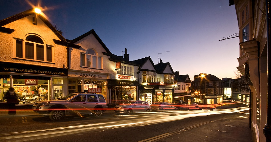 Shopping in Bowness and Windermere